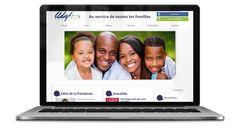 L'Union départementale des associations familiales de Charente-Maritime, à La Rochelle,  nous a confié la création de son site Internet.