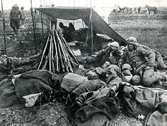 Turkish troops in Persia during the First World War.