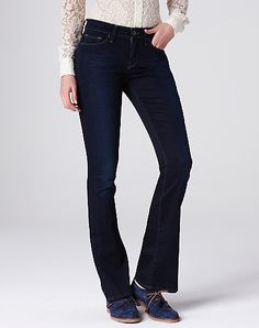 Love these, so flattering!  Also liked the Sweet Boot jeans but even in ankle length they would need alterations.  Sofia Boot Jeans