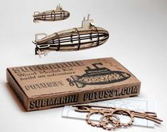 Create little laser cut toys...Please check out this website as very cool