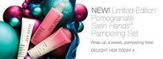 OMG! New Limited-Edition POMEGRANATE Satin Hands is available NOW! PERFECT holiday indulgence & gift! marykay.com/anneturner