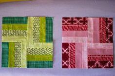 4 Streifen = 1 Block - das Leben kann so einfach sein!