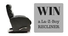 Win a La-Z-Boy Recliner Z Boys, La Z Boy, Recliner, Bees, Competition, Chair, Wingback Armchair, Recliners