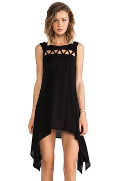 0e6ff6e4f9a TOP PICK -  REVOLVEclothing Black High Low Dress