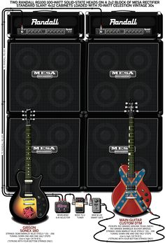 warren demartini ratt 2010 guitar rigs pinterest. Black Bedroom Furniture Sets. Home Design Ideas
