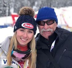 Mikaela Shiffrinová so svojím zosnulým otcom. Winter Hats, Fashion, Moda, Fashion Styles, Fashion Illustrations