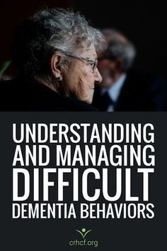 Learn how caregivers can manage sundowning, aggression, wandering, and other difficult dementia behaviors and what causes these dementia-related behaviors. Source by LESipp Alzheimer Care, Dementia Care, Alzheimer's And Dementia, Dementia Symptoms, What Causes Dementia, Dementia Quotes, Dementia Crafts, Dementia Training, Occupational Therapy