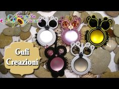 Creazioni gufi soutache #annarellagioielli #soutache #creation