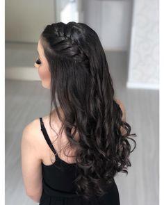 Open Hairstyles, Scarf Hairstyles, Bride Hairstyles, Summer Hairstyles, Medium Hair Cuts, Long Hair Cuts, Medium Hair Styles, Short Hair Styles, Braids For Long Hair