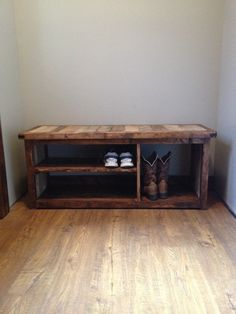 Rustic Bench With Shoe Creative DIY Rustic Storage Ideas To Organize Your Home . Entryway Bench Seat Entry Bench With Storage Hall Tree . 21 Easy And Cheap DIY Shoe Rack Ideas Simplyhome. Home and Family Rustic Shoe Rack, Shoe Rack Bench, Wooden Shoe Racks, Diy Shoe Rack, Bench With Shoe Storage, Shoe Rack With Doors, Shoe Rack Pallet, Small Bench, Pallet Bench