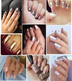 LUSTERKOWE paznokcie.... ♥♥♥ Super trend który pasuje...