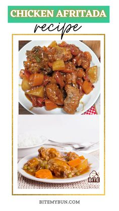 Chicken Afritada Recipe is one of those Filipino recipes which are doused in tomato sauce.Along with Beef Mechado, Pork Giniling, Menudo and other Filipino tomato-based recipe, the chicken afritada is another popular dish from among the Filipinos.With Filipino's penchant for anything tasty, meaty but still healthy, Chicken Afritada is sure to be a perennial favorite.#filipinorecipe #asianrecipes #chickenrecipe Asian Chicken Recipes, Asian Dinner Recipes, Healthy Chicken, Asian Recipes, Healthy Recipes, Chicken Afritada Recipe, Beef Mechado, Marinated Chicken, Filipino Recipes