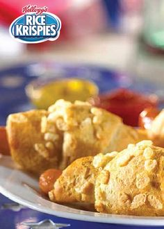 Rice Krispies® cereal adds a tasty, light crunch to Pigs in Blankets. With 5 ingredients and 2 simple steps, this is the perfect tailgate finger food and a great kid-friendly party appetizer.