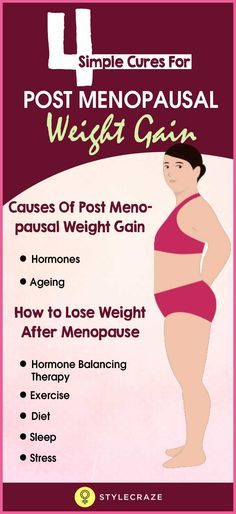 Among the many changes that come with menopause, weight gain is one of the most prominent ones. This weight gain generally occurs around your midsection and is also called meno-pot or middle-age spread. The problem with this weight gain is not just the tummy-Pudge, but the increased health risks it brings along. According to Mayo Clinic, this increased midsection fat results in higher risk of breast cancer, heart attacks, type 2 diabetes, Alzheimer's dementia, and high blood pressure in…