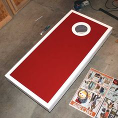 How to make your own cornhole set!