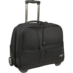 Rockland Luggage Executive Rolling Computer Case - Black - via eBags.com!