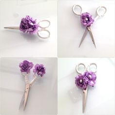 Diy - craft- proje- scissors- söz- nişan makası- yüzük tepsisi- turkey-turkish wedding culture-bride- bridal- my engagement details- white- purple