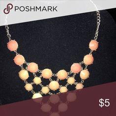 Orange Necklace Necklace Buckle Jewelry Necklaces