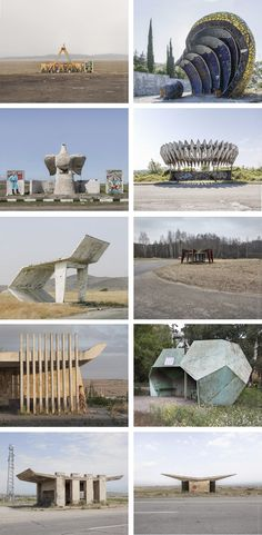 A photo book showcasing the most mind-blowing collection of creative bus stop design from the Soviet era ever assembled | Christopher Herwig via Kickstarter