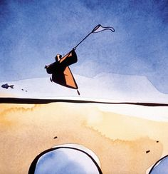The Monk and the Fish by Michael Dudok de Wit