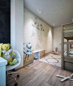 2 Luxury Apartment Designs For Young Couples Kid and Teen Room