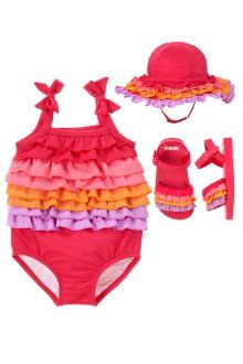 Sunny ruffles swim suit from Gymboree