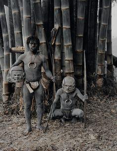 ©Jimmy Nelson,Asaro (Indonésie et Papouasie-Nouvelle-Guinée), vers 2012.