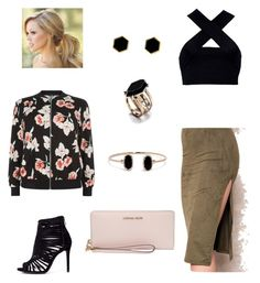"""""""Untitled floral"""" by sevendaytrends on Polyvore featuring New Look, Motel, Mallary Marks, Lulu*s and MICHAEL Michael Kors"""