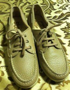 SAS HandSewn Comfort Shoes Made in USA Womens Sz 7.5 Beige #SAS #ComfortShoes