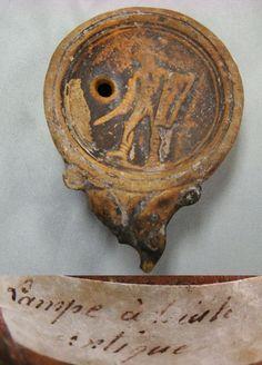 lampe romaine huile - Buscar con Google
