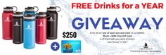 Win a $250 Visa Gift Card & some insulated water bottles!... sweepstakes IFTTT reddit giveaways freebies contests