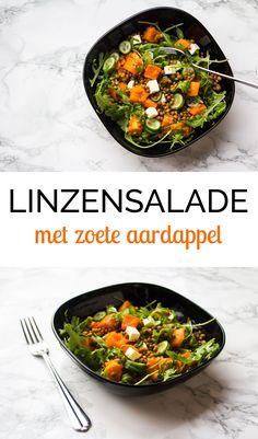 Lekker en gezond is deze Linzensalade met Zoete Aardappel. Salades kunnen wat ons betreft het hele jaar door gegeten worden. Helemaal als je voedzame ingrediënten toevoegt zoals en zoete aardappel. Dan wordt het een goede maaltijdsalade met veel vitamines en je dagelijkse portie gezondheid. Wij gebruiken in dit recept voorgekookte linzen. Je kunt de linzen...