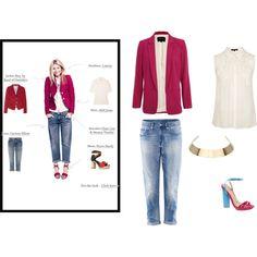 Dress For Less like Gwyneth Paltrow Purple Jacket, Dresses For Less, H&m Jeans, Gwyneth Paltrow, Fashion Looks, Polyvore, Jackets, Shirts, Shopping
