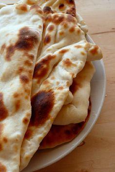 How to make Garlic Naan Bread ~ Singapore Food   Recipes