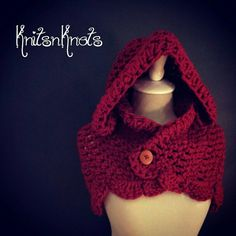 Check out this item in my Etsy shop https://www.etsy.com/listing/202693628/little-red-riding-hood-hooded-capulet