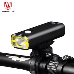 Check Price Wheel Up Usb Rechargeable Bike Light Front Handlebar Cycling Led Light Battery #Rechargeable #Flashlight