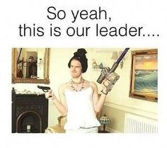 Our leader is.... FABULOUS!!!