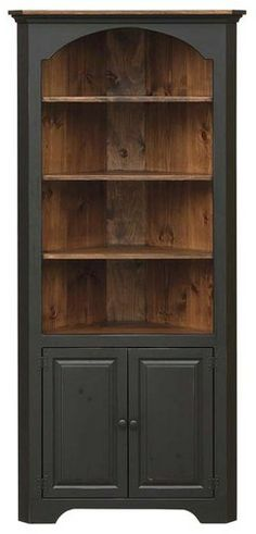 LARGE CORNER CUPBOARD - COLONIAL