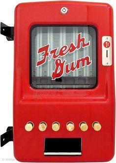 1940s Stoner Gum Machine