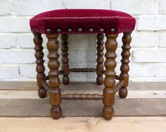 The stunning bohemian style Ruby Stool is the perfect addition to a casual seating area, or low table dinner setting.