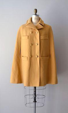 1960s Spriersby wool cape coat     #cape #vintage #mod #1960s