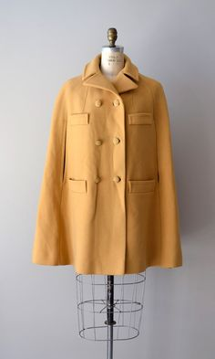 1960s Spriersby wool cape coat
