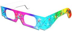 Quantity: Pack of 10Light up your holidays or ANY day with 3-D FireworksTM glasses. The light show for your face that's great for all occasions,