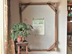 chicken wire frame for earth friendly by uvproductionhouse on Etsy