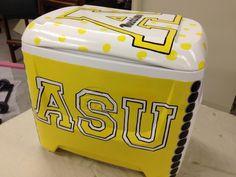 Appalachian State University cooler