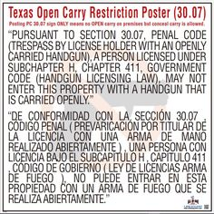 The size of this poster is x printed in high-quality full color and guaranteed to be the most up to date versions available. LAMINATED POSTERS*Laminated on both sides.NON-LAMINATED POSTERS*Made with recycled bond paper & non-laminated. Open Carry, Regulatory Compliance, Bond Paper, Labor Law, Poster Prints, Posters, Poster Making, Gun, Safety
