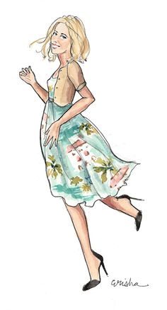 Fashion Illustration by A Thing Created