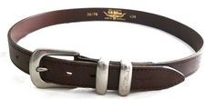R.M. WILLIAMS Brown Leather Cowhide BELT 30/76 MADE IN AUSTRALIA #RMWILLIAMS