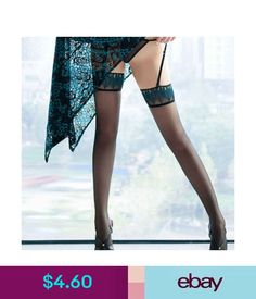 4b5074747af Hosiery Silicone Striped Thigh Highs Peacock Feathers Stocking Over Knee  Stockings  ebay  Fashion Peacock
