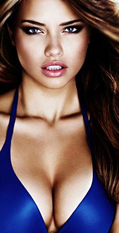 Adriana Lima - Beautiful Women With Sexy Long Hair